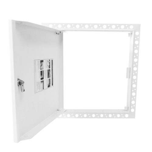 Open Budget Beaded Frame Metal Door