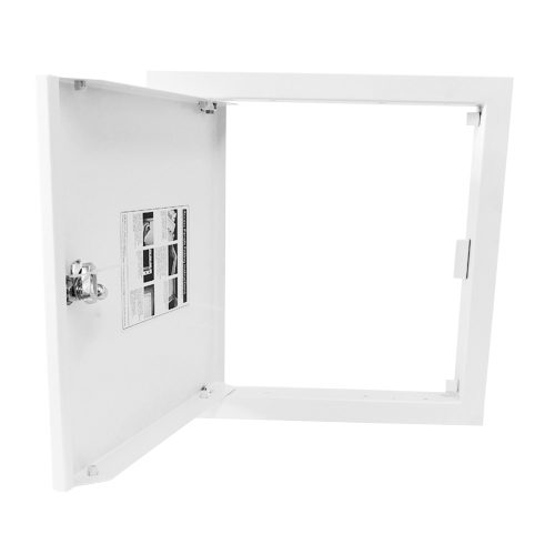Budget Picture Frame Access Panel Open