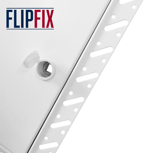 Flipfix Lock Metal Door Beaded Frame