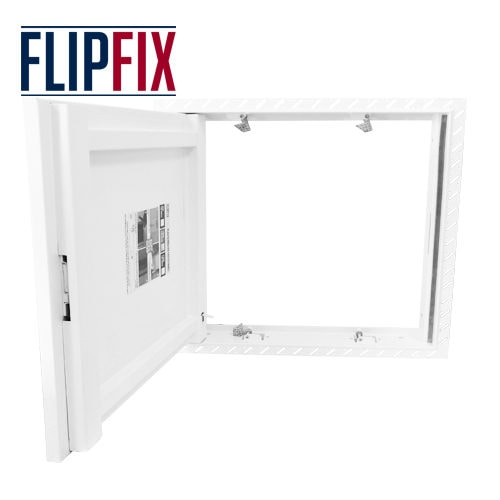 Flipfix Beaded Frame Plasterboard Door Open