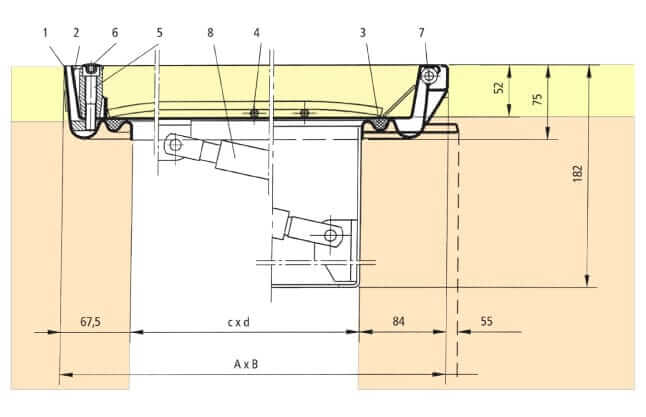 Section-Drawing-SBVE-GD-Stainless-Steel