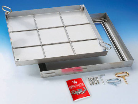 SBVE Stainless Steel Access Cover