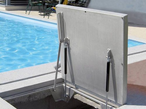 SBVE-GD Stainless Steel Gas Swimming Pool