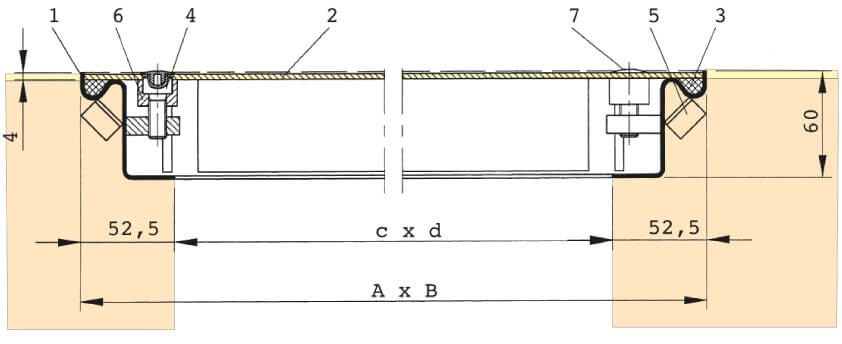 Section-Drawing-SRV-Aluminium
